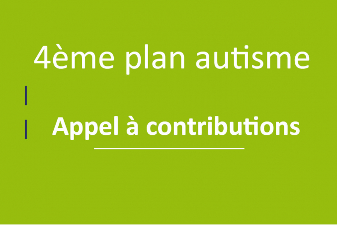4 plan autisme -appel à contribution