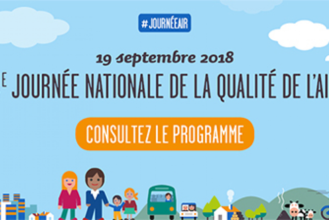 Programme Journée nationale qualité de l'air - 19 septembre 2018